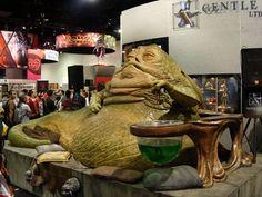 Jabba The Hut Jabba The Hutt, Obi Wan, Starwars, Carnival, Greek, Nerd, Culture, Comics, Painting