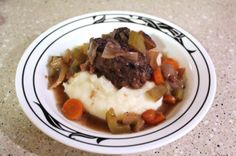 Breaking in the Le Creuset – Braised short ribs