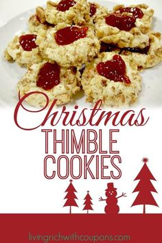 #Christmas Thimble #Cookies Recipe - Family Favorite #Holiday Recipe