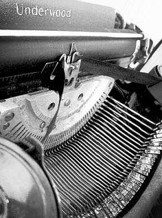 Sound - Typewriter Photograph taken by Lauren Millan