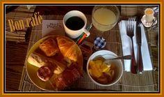 le petit-déjeuner du matin