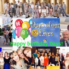 Happy #days50 ‼️‼️@DaysofourLives