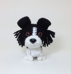 Knitting Pattern For Border Collie : 1000+ images about Knitted Knick-Knacks on Pinterest Dog crochet, Dog stuff...