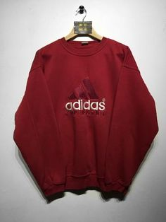 3a5629bbe Adidas Sweatshirt X/L Adidas Vintage, Baggy Jumpers, Sweater Hoodie, Baggy  Hoodie