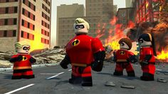 LEGO The Incredibles Announced