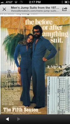 70's fashion ... Statements.