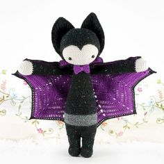 "lalylala » crochet pattern ""VLAD the vampire bat"""