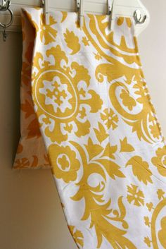 Suzani in Yelow -Home Decor Weight Fabric from Premier Prints - ONE FAT QUARTER. $4.25, via Etsy.