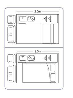 Convert Your Van Ltd - Camper Van Interior Layout Guide