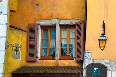 fenêtre colorées