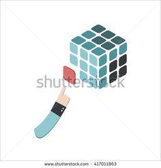 rubik cube illustration - Google Search