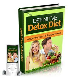 Definitive Detox Program | Insider Secrets To Radiant Health