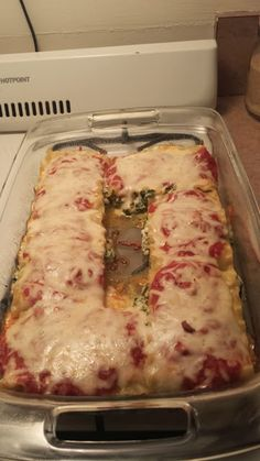 healthy Weight Watchers spinach lasagna recipe