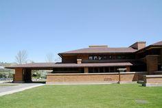 The Darwin D. Martin House 1904, Frank Lloyd Wright