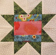 Quilt Block of the Month 2013 #4 free pattern on The Quilt Ladies at http://www.thequiltladies.com/2013/02/quilt-block-of-month-4.html