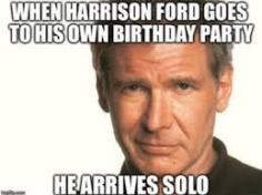 Super funny happy birthday for him star wars Ideas Happy Birthday For Him, Funny Happy Birthday Wishes, Birthday Quotes For Him, Birthday Star, Funny Birthday, Birthday Cards, Birthday Funnies, Birthday Gifts, Birthday Sayings