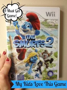 The Smurfs 2 Video Game is One the Kids Love! #smurfs2game #spon