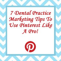 Have you ever wondered how to improve your dental practice marketing? Ever tried to speculate which social media networks you should be pursuing versus which ones are a waste of time? I feel Pinterest might surprise you. You need to be on Pinterest if you are not already. Women comprise about 80% of Pinterest users and most are in the U.S. In dental it is a known fact women make a lot of the decisions when it comes to where the entire family goes to the dentist.... Dentistry, Content Marketing, Dental, Improve Yourself, Things To Come, Social Media, Feelings, Tips, Blog