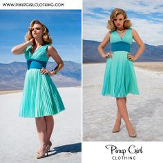 Pinup Girl...love these colors!