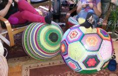 Amazeballs   Crochet Yoga Balls