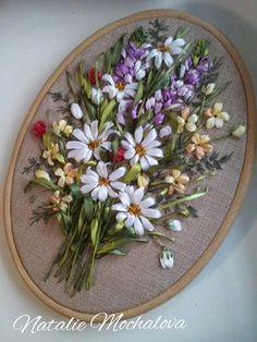 silk ribbon embroidery Natasha Mochalova