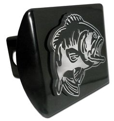 Bass Black Hitch Cover, Bass Hitch Cover