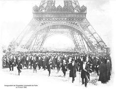 14-avril-1900-inauguration-de-l-expo-avec-le-cortege-presidentiel - Paris