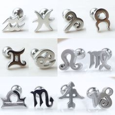 Check out this item in my Etsy shop https://www.etsy.com/listing/500132864/zodiac-sign-piercingzodiac-stud