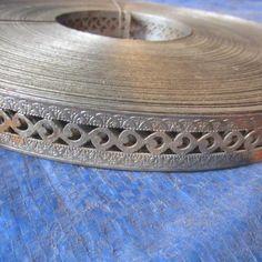 Decorative Metal Trim Roll Tools Supplies K Bid Stainless Steel Channel, Metal Forming, Decorative Trim, Metal Trim, Furniture Restoration, Food Ideas, Craft Ideas, Artsy, Diy Crafts