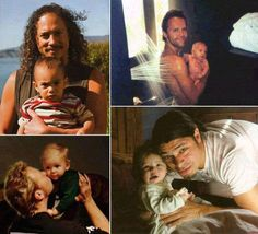 Metallica dads with their babies Best Heavy Metal Bands, Hardwired To Self Destruct, Jason Newsted, Robert Trujillo, Ride The Lightning, Star Family, Kirk Hammett, James Hetfield, Music Artwork