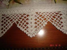 Crochet Bedspread Pattern, Crochet Lace Edging, Crochet Borders, Crochet Stitches Patterns, Filet Crochet, Crochet Designs, Stitch Patterns, Knit Crochet, Braided Rag Rugs