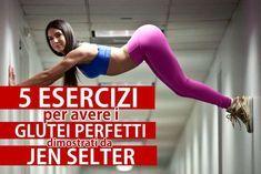 Workout Italia   Glutei sodi: 5 esercizi dimostrati da Jen Selter. - Workout Italia
