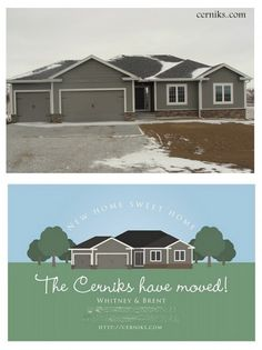 moving announcement... This is cool! Turn your house into a cartoon!