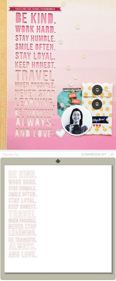 Free 'Be Kind' Silhouette studio cutting file {by Geralyn for Studio Calico} http://inacreativebubble.blogspot.ca/2013/03/studio-calico-spencers.html