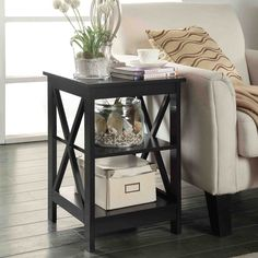 Add the perfect finishing touch to your favorite seating area with the Convenience Concepts Oxford Square End Table . This sophisticated end table features. Living Room End Tables, Sofa End Tables, Living Room Furniture, Living Room Decor, Basement Furniture, Condo Furniture, Cabinet Furniture, Table Furniture, Coffee Tables