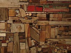 George Morrison (Grand Portage Band of Chippewa, 1919-2000), Untitled, Wood Collage)