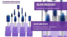 Jolifin Fräserbits Longlife Aufsätze by GDN.de