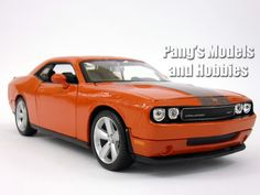 Dodge Challenger SRT-8 2008 Diecast 1/24 Model by Maisto