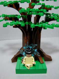 Buddha under the bodhi tree Lego