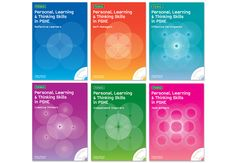 Personal Learning and Thinking Skills by Folens A series of 6 book covers by Form® - Design/Art Direction