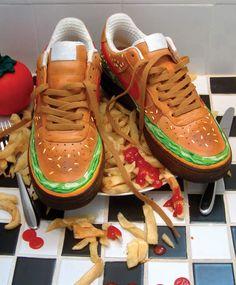Mark Ward custom Hamburger Shoes