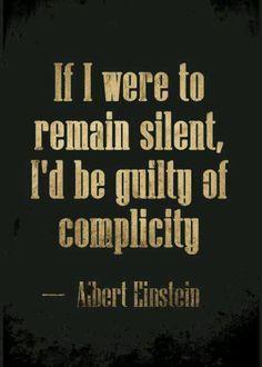 #Einstein #quote #complicity