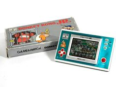 Nintendo Game & Watch New Wide Donkey Kong Jr. DJ-101 Boxed Great Condition F/S #Nintendo