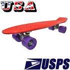 "NEW 22"" Vintage Cruiser Penny Style Deck Street Plastic Skateboard Color Clash - Clash, COLOR, CRUISER, DECK, Penny, Plastic, Skateboard, STREET, Style, Vintage"