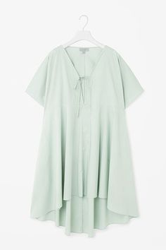 Stock up on pieces that can double as both beach coverups and everyday wear. An airy caftan over some kick-flare jeans is a cute weekend look.COS Kaftan Dress, $99 $50, available at COS. #refinery29 http://www.refinery29.com/comfortable-clothing-for-summer-2016#slide-3