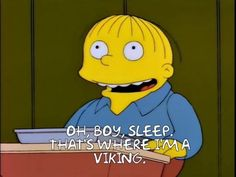 """When someone asks what you like to do: 