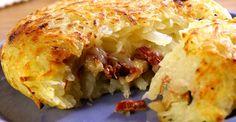 Torta de batata com carne seca - Caderneta de Receitas