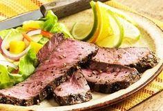Cuban Style Marinated Steak :: Moms-Diner.com #recipies #moms #steak