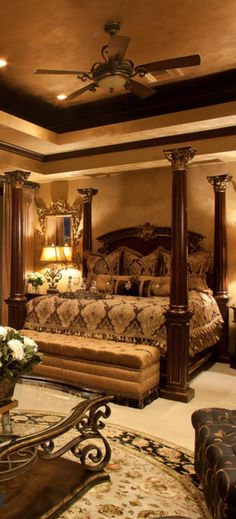 Old World, Mediterranean, Italian, Spanish & Tuscan Homes & Decor - Dream Homes