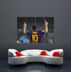 lionel messi goal celebration fc barcelona giant new art print poster oz302 giant http barcelona bedroom